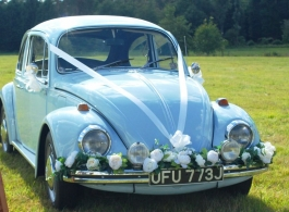 1970 VW Beetle for wedding hire in Brighton